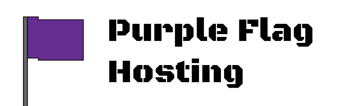 Purple Flag Hosting